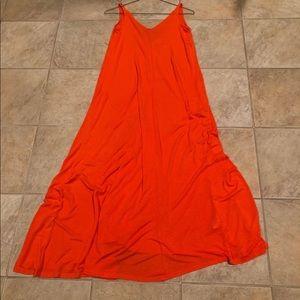 H&M maxi linen dress